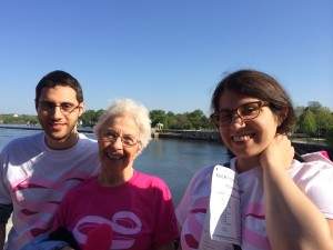 Mothers Day Breast Cancer Walk